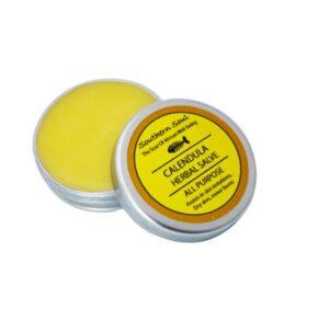 calendula, dry skin, natural healing balm